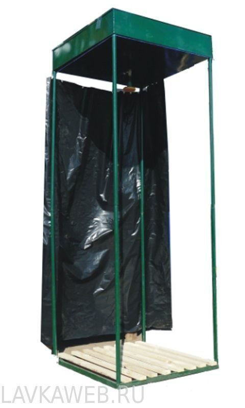 Дачный душ зеленовка