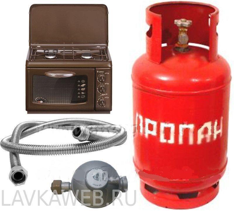 Газовая плита для баллонного газа: отличительные особенности 33